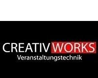 Logo Creativworks Veranstaltungstechnik