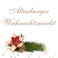 Weihnachtsmarkt  Altenburg