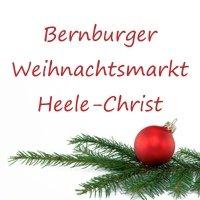Bernburger Weihnachtsmarkt Heele-Christ  Bernburg