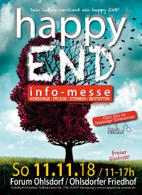 happy END bestattungs-messe - 11.11.2018 Forum Ohlsdorf Hamburg, happy END info-messe