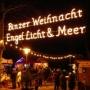 Binzer Weihnachtsmarkt Engel, Licht & Meer, Binz
